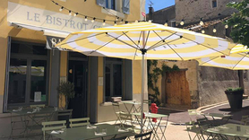 Le Bistrot Cersois propose des plats traditionnels à déguster en terrasse ombragée (® facebook bistrot cersois)