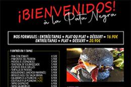 Pata Negra Béziers Restaurant   Carte, Menus et Plats à emporter